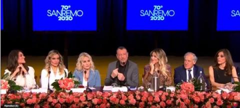 Conferenza stampa Sanremo 2020
