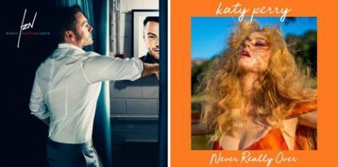Tiziano Ferro e Katy Perry